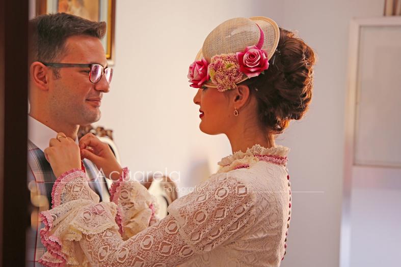 Pamelas y tocados de boda   Fotógrafo de bodas