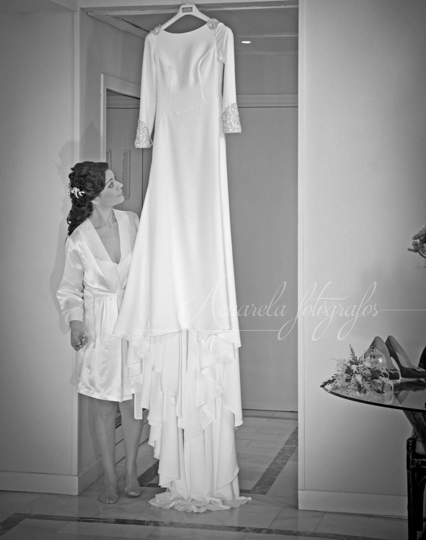 Fotos de boda. Casa novia