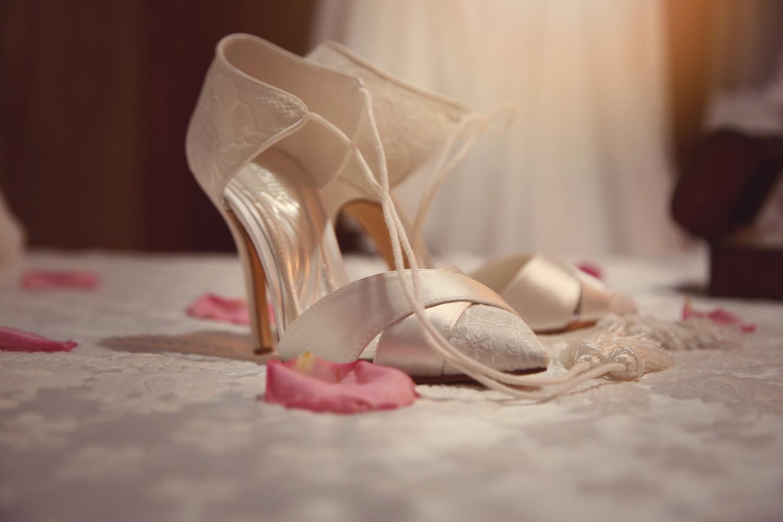 los zapatos de novia