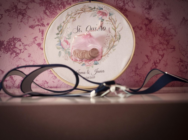 Una boda empieza en la casa del novio. sus detalles y complementos cuentan su historia